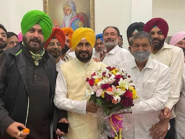 कैप्टन को हटाने के बाद कांग्रेस ने चरणजीत चन्नी को CM बनाया।