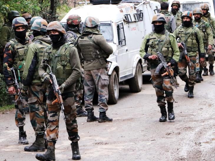 जम्मू-कश्मीर के शोपियां में सोमवार से एनकाउंटर चल रहा था। आतंकियों की तलाश में सुरक्षाबलों ने सर्च ऑपरेशन भी छेड़ रखा है।- फाइल फोटो।