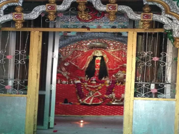 ग्यारहवी सदी में राजा टोडलमल ने करवाया था निर्माण, पृथ्वीराज और आल्हा-उदल के युद्ध की गवाह हैं देवी जालौन,Jalaun - Dainik Bhaskar