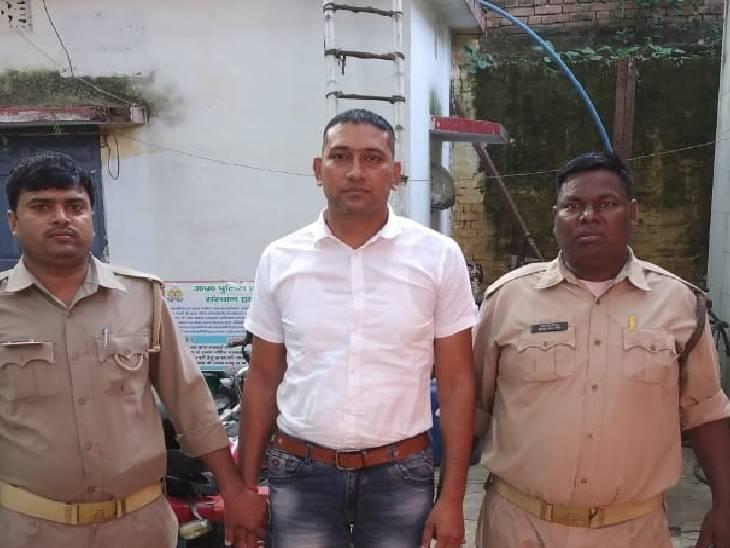 मिर्जापुर में फर्जीवाड़ा कर पीड़ित की पुश्तैनी जमीन की कराई रजिस्ट्री, एक आरोपी गिरफ्तार मिर्जापुर,Mirzapur - Dainik Bhaskar