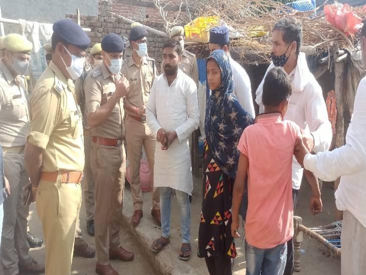 बचने के लिए चोरों ने चाकू से किए कई वार, गंभीर हालत में मेरठ किया गया रेफर हापुड़,Hapud - Dainik Bhaskar