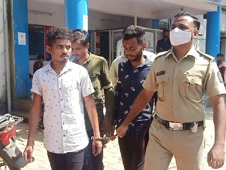 आरोपियोंने महाराष्ट्र में महिला के साथ की थी छेड़छाड़, तलवार भी जब्त|बुरहानपुर,Burhanpur - Dainik Bhaskar