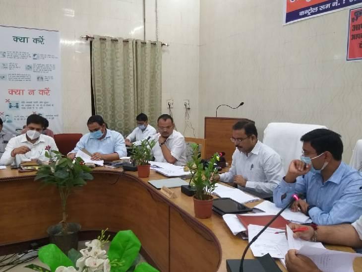 लक्ष्य पूरा न कर पाने वाले अधिकारियों को लगाई फटकार, मंडियों के क्रय केंद्रों पर सीसीटीवी लगवाने के दिए निर्देश गोंडा,Gonda - Dainik Bhaskar