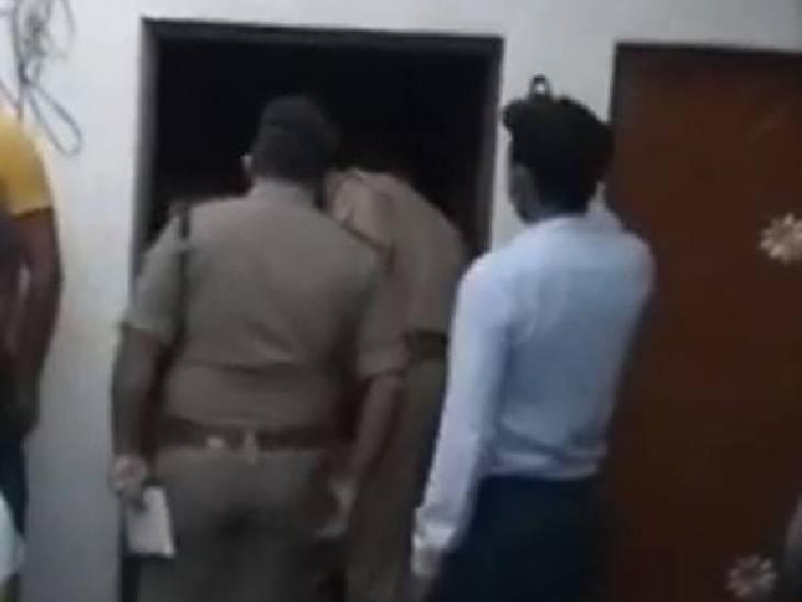 रुपयों के लेनदेन के विवाद में बेटे पर हमला किया, विरोध पर मां की भी हत्या कर दी, आरोपी को पकड़ने के लिए पुलिस ने 5 टीमें लगाईं|झांसी,Jhansi - Dainik Bhaskar