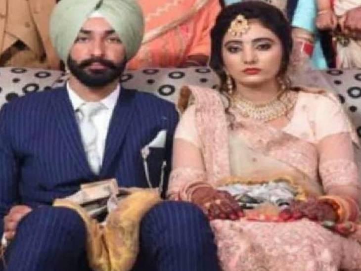 मां-बाप को सदमा न लगे इसलिए बड़े भाई ने छिपाई शहादत की खबर, पत्नी को फेसबुक से हुई जानकारी...एक साल पहले ही हुई थी शादी|शाहजहांपुर,Shahjahanpur - Dainik Bhaskar