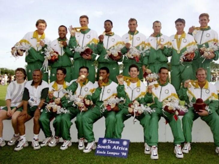 1998 कॉमनवेल्थ गेम्स में क्रिकेट को शामिल किया गया था। तब साउथ अफ्रीका ने गोल्ड जीता था।