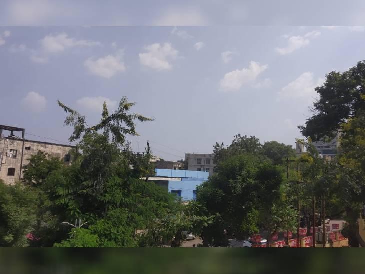 भोपाल में बुधवार को मौसम साफ रहा।