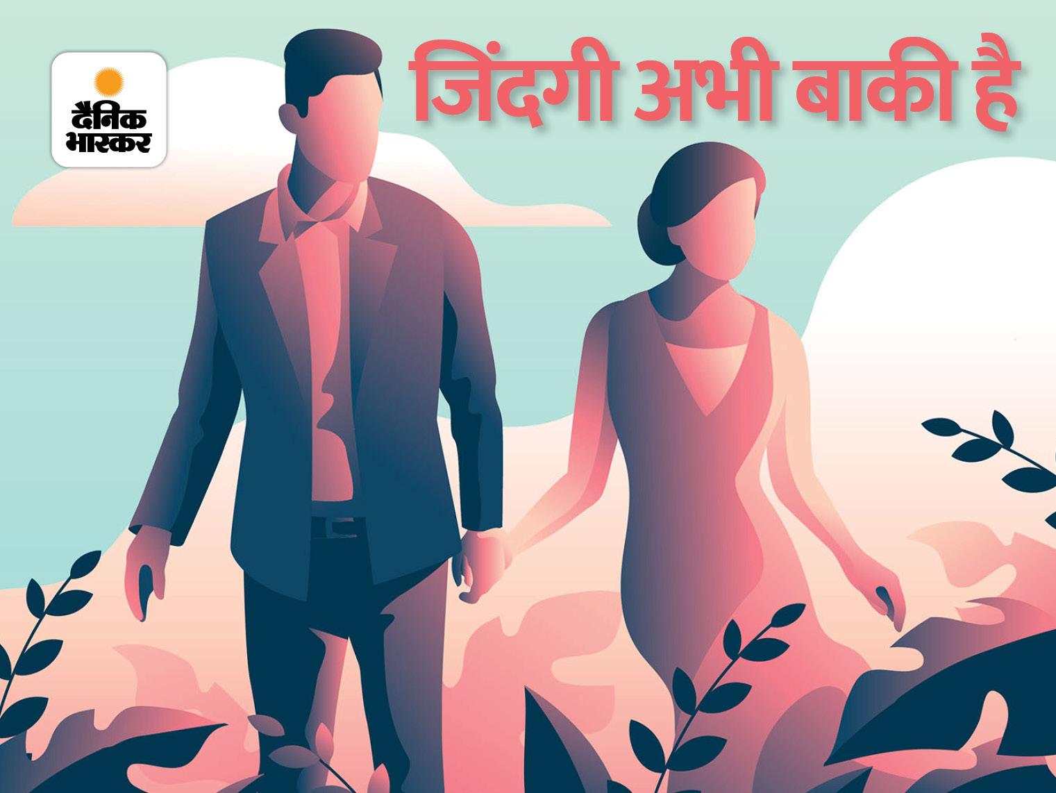 आधी उमर निकल गयी शैलेश, अब किसी भी जवाब का कोई मतलब नहीं, पर जवाब दिये बिना अब जी नहींपाऊंगी|कहानी,Story - Dainik Bhaskar