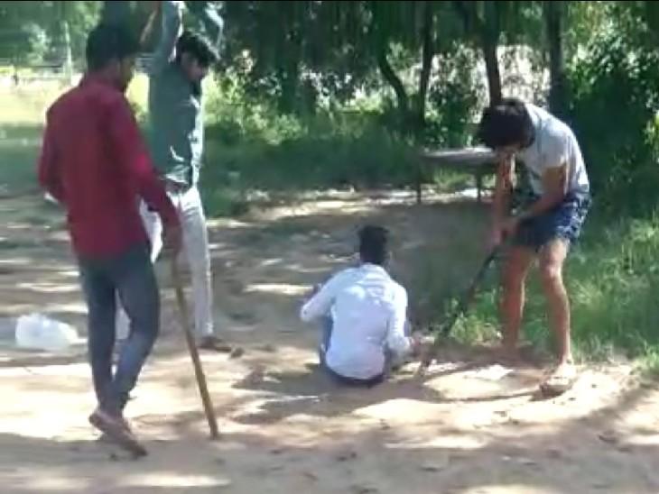 मामूली रंजिश में BSc के छात्र की पीट-पीटकर हत्या, जल्दी दम न तोड़े इसलिए बीच-बीच में पिलाते रहे पानी|रेवाड़ी,Rewari - Dainik Bhaskar