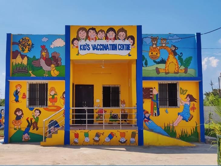 जबलपुर में बच्चों की वैक्सीन आने से पहले ही तैयारी शुरू कर दी गई है।