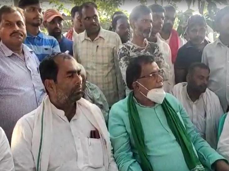जगदीशपुरके राजदविधायकराम विशुन सिंह 'लोहिया'। - Dainik Bhaskar