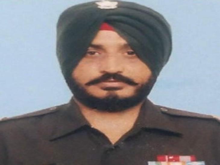 शहीद JCO जसविंदर सिंह।