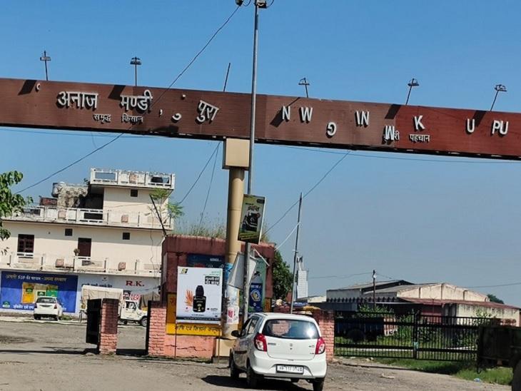 करनाल की घीड़ मंडी में गेट पास तो जारी हुए पर नहीं पहुंची फसल; मार्केटिंग बोर्ड के जोनल इंचार्ज ने सौंपी रिपोर्ट करनाल,Karnal - Dainik Bhaskar