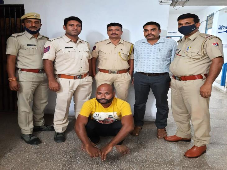 डिस्ट्रिक्ट स्पेशल टीम ने की कार्रवाई, रानी रोड़ से अवैध पिस्टल के साथ एक को पकड़ा; आरोपी से पूछताछ जारी|उदयपुर,Udaipur - Dainik Bhaskar