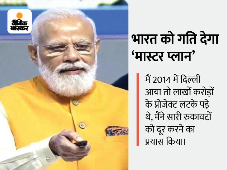 PM मोदी ने कहा- आज का भारत समय पर प्रोजेक्ट पूरे कर रहा, 21वीं सदी में पुरानी सोच पीछे छोड़ रहा देश,National - Dainik Bhaskar