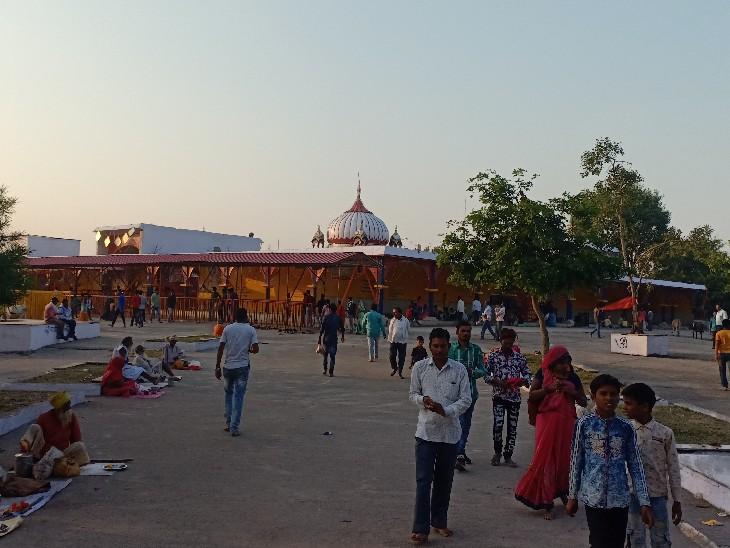 रानगिर में माता हर सिद्धि का मंदिर।