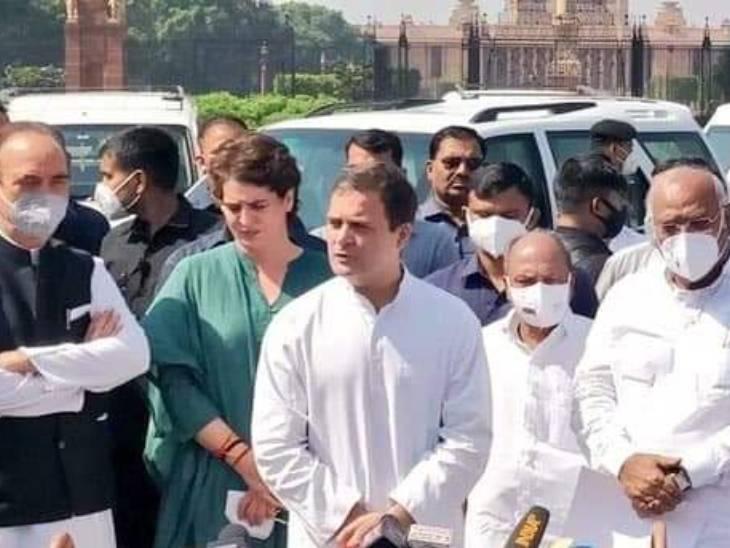 राहुल गांधी ने कहा कि केंद्रीय मंत्री अजय मिश्र के पद पर रहते हुए इस मामले में निष्पक्ष जांच संभव नहीं है।