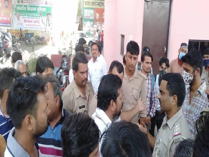 थाने में शिकायत करने पहुंचे भाजपा विधायक से पुलिस की हुई नोकझोंक, एसपी के आश्वासन के बाद खत्म हुआ विवाद अमरोहा,Amroha - Dainik Bhaskar
