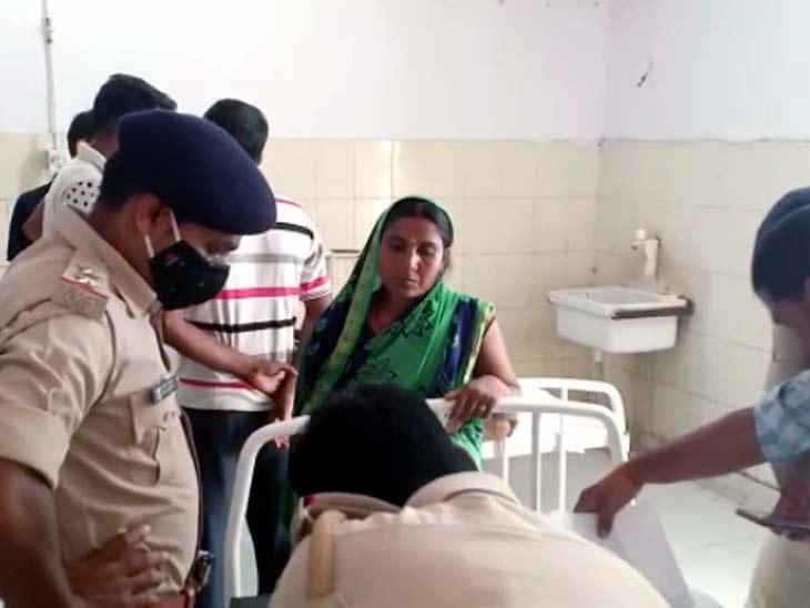 पुलिस मामले की जांच में जुट गई है। - Dainik Bhaskar