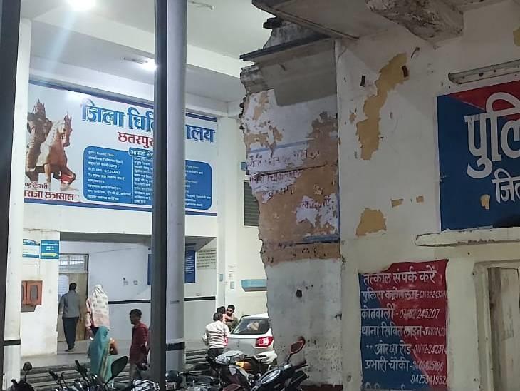 जिला अस्पताल में डेंगू की बेहतर व्यवस्था नहीं होने के कारण झांसी, ग्वालियर, भोपाल जा रहे हैं मरीज|छतरपुर (मध्य प्रदेश),Chhatarpur (MP) - Dainik Bhaskar