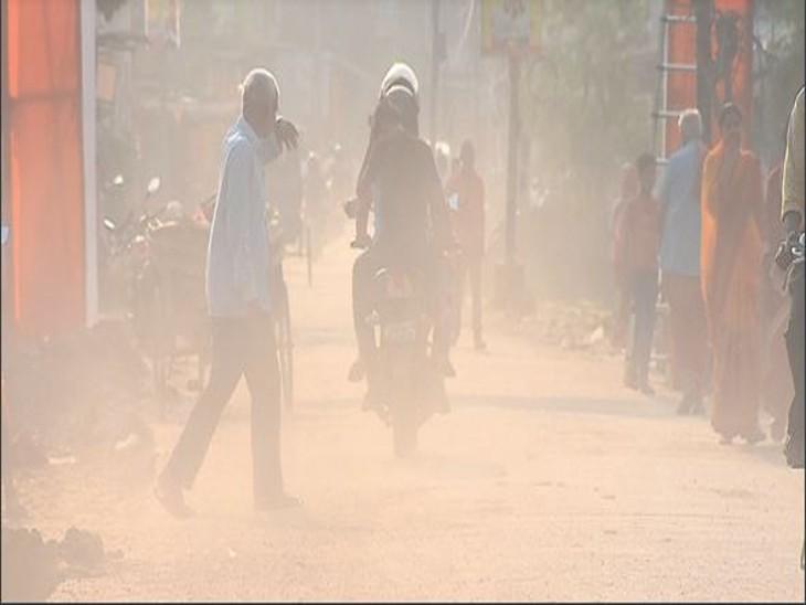 कोरोना संकट था तो शहर की हवा साफ थी; अब प्रदूषण इतना कि हवा हुई जहरीली|मुजफ्फरपुर,Muzaffarpur - Dainik Bhaskar