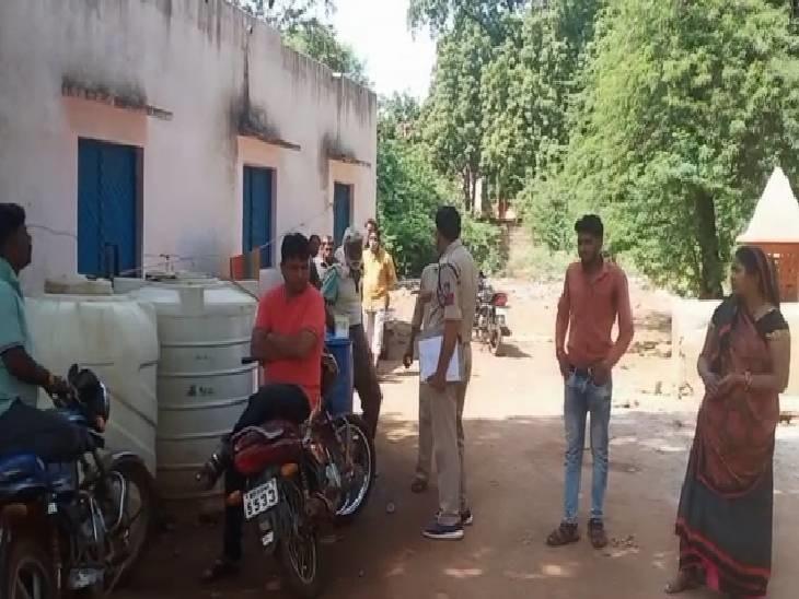 पुलिस ने बताया- सब्जी अच्छी नहीं बनी थी इसलिए पत्नी से झगड़ा कर के घर से बाहर गया था मृतक, परिजन बोले- वह मजदूरी के लिए घर से बाहर गया था शिवपुरी,Shivpuri - Dainik Bhaskar