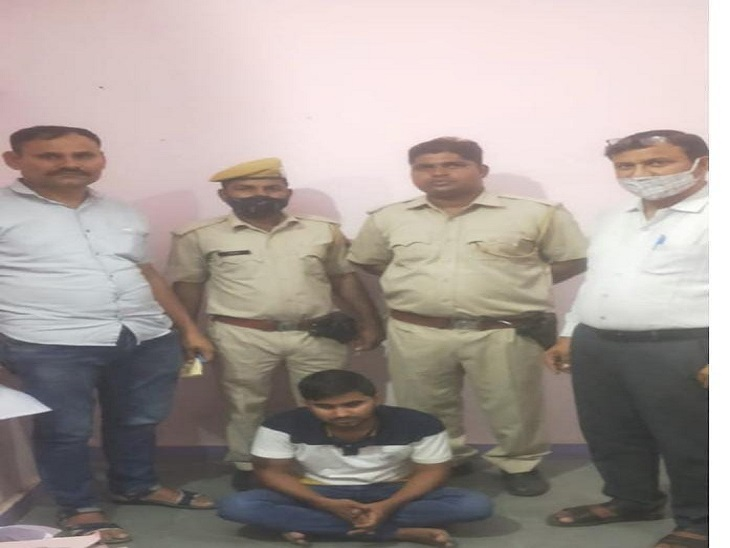 हरियाणा के मेवात इलाके से पकड़ा युवक 5 दिन के रिमांड पर, एटीएम चोरों को दी थी स्कॉर्पियों कार झुंझुनूं,Jhunjhunu - Dainik Bhaskar
