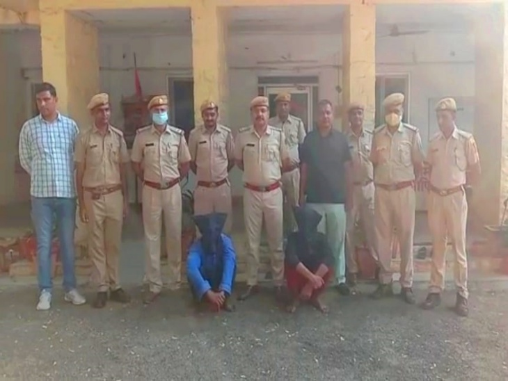 भवानीमंडी में व्यापारी से 5 लाख रुपए लूटने की कोशिश की थी, पुलिस ने हुलिए के आधार पर 24 घंटे में पकड़ा झालावाड़ (कोटा),Jhalawar (Kota) - Dainik Bhaskar