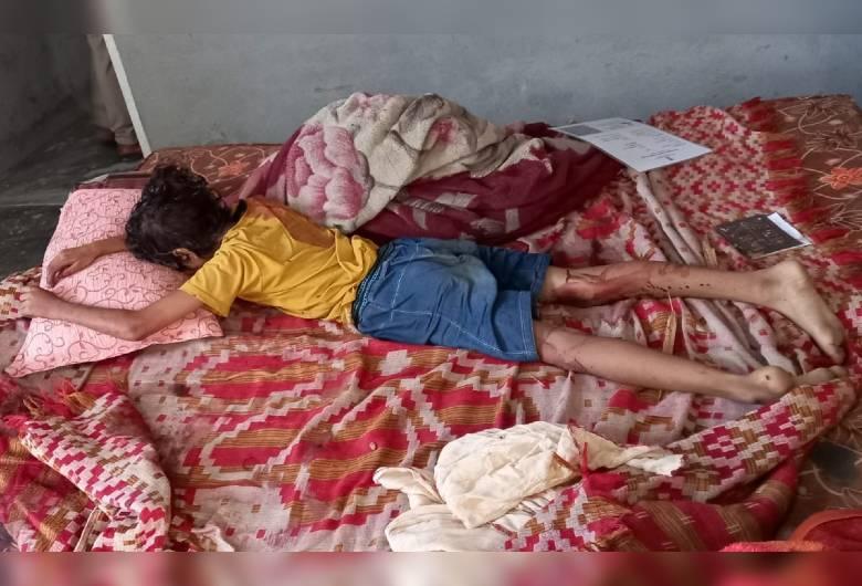 पडेासी के नौकर ने पैसे के लालच में परिवार पर कुल्हाड़ी से किया हमला, तीनों को मरा समझाकर आया था बाहर कैथल,Kaithal - Dainik Bhaskar