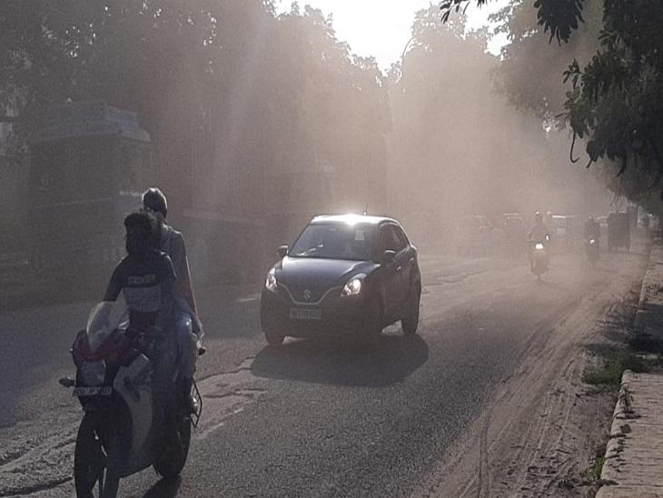 देश में फिर से सबसे प्रदूषित शहरों में शुमार हुआ बल्लभगढ़, एक्यूआई पहुंचा 333, आज से ग्रेप लागू फरीदाबाद,Faridabad - Dainik Bhaskar