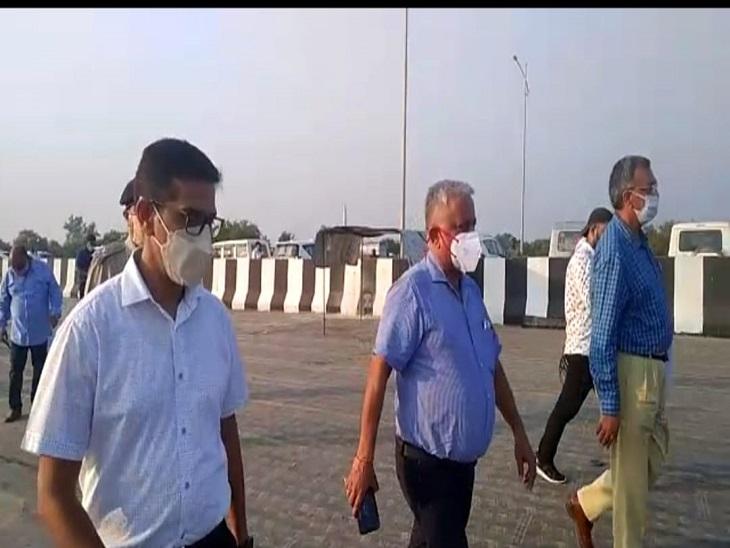 आजमगढ़ में पूर्वावरोधक आयु की समीक्षा करते हैं ACS अवनीश अवस्थी।