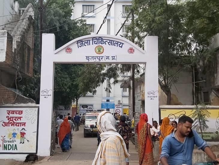 जिला अस्पताल से ग्वालियर किया था रैफर - Dainik Bhaskar