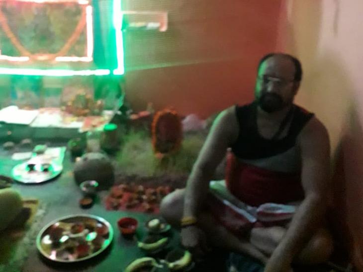 कारागार में माँ दुर्गा की दरबार है।