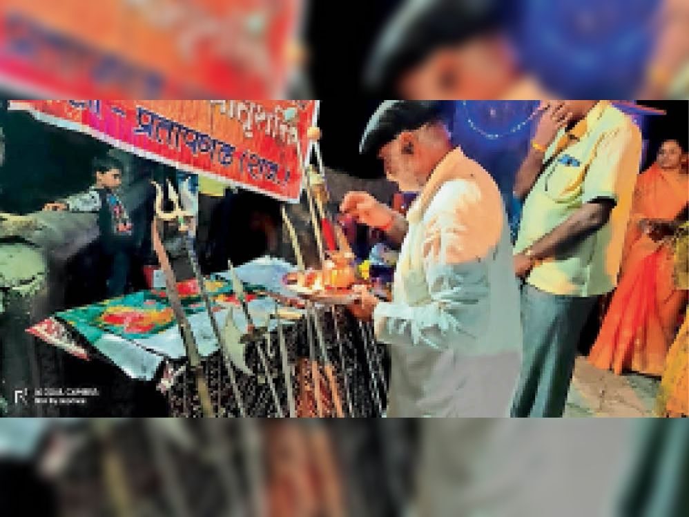 रवि योग में मनाई नवमी, आज दशहरा, लेकिन काेराेना महामारी के चलते नहीं हाेगा रावण दहन|प्रतापगढ़,Pratapgarh - Dainik Bhaskar