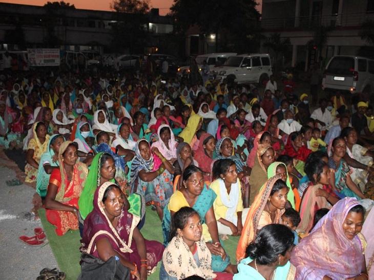 वायुमंडलीय ने 4 से हसदेव अरण्य ने पदयात्रा शुरू की।  वे गुरुवार को रायपुर।