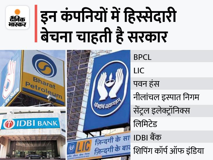 हिस्सा बेचकर खजाना भरेगी सरकार: एअर इंडिया के बाद अब जल्द ही LIC और BPCL समेत कई कंपनियों में हिस्सा बेचेगी सरकार, 1.75 लाख करोड़ जुटाने का लक्ष्य