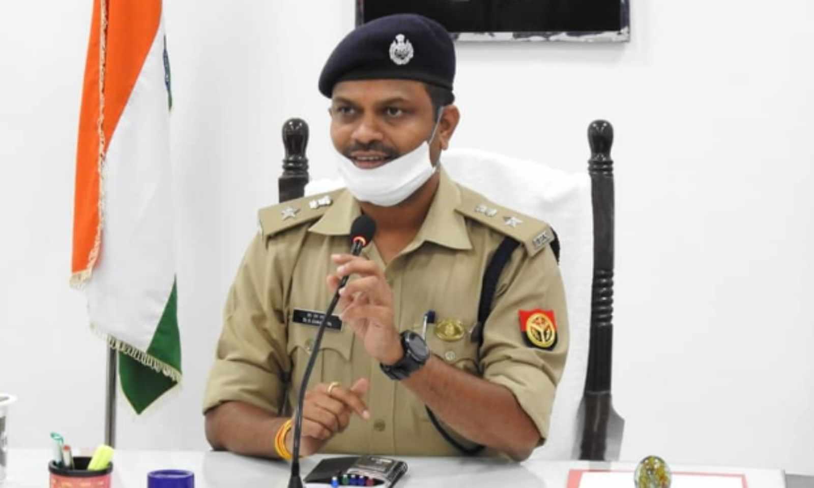 एसएसपी डा.एस.चनप्पा का फाइल फो� - Dainik Bhaskar