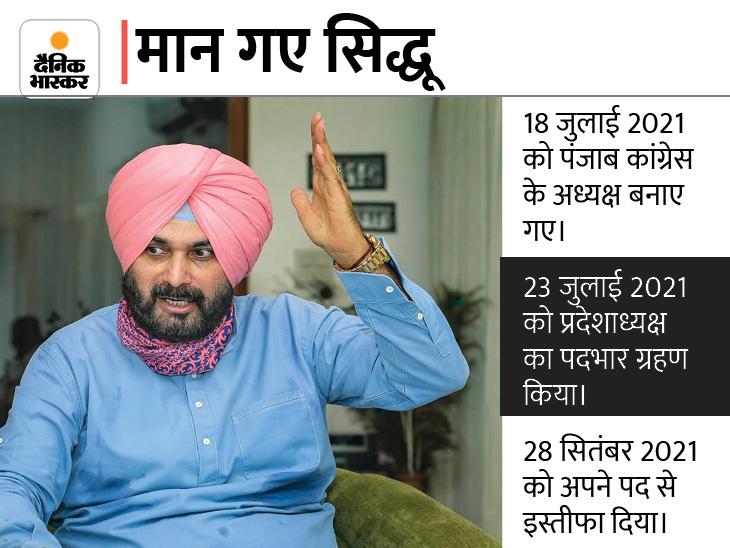 दिल्ली में पार्टी नेताओं से मुलाकात के बाद बोले- आलाकमान का हर फैसला मंजूर; सोनिया-राहुल और प्रियंका ही मेरे नेता|लुधियाना,Ludhiana - Dainik Bhaskar