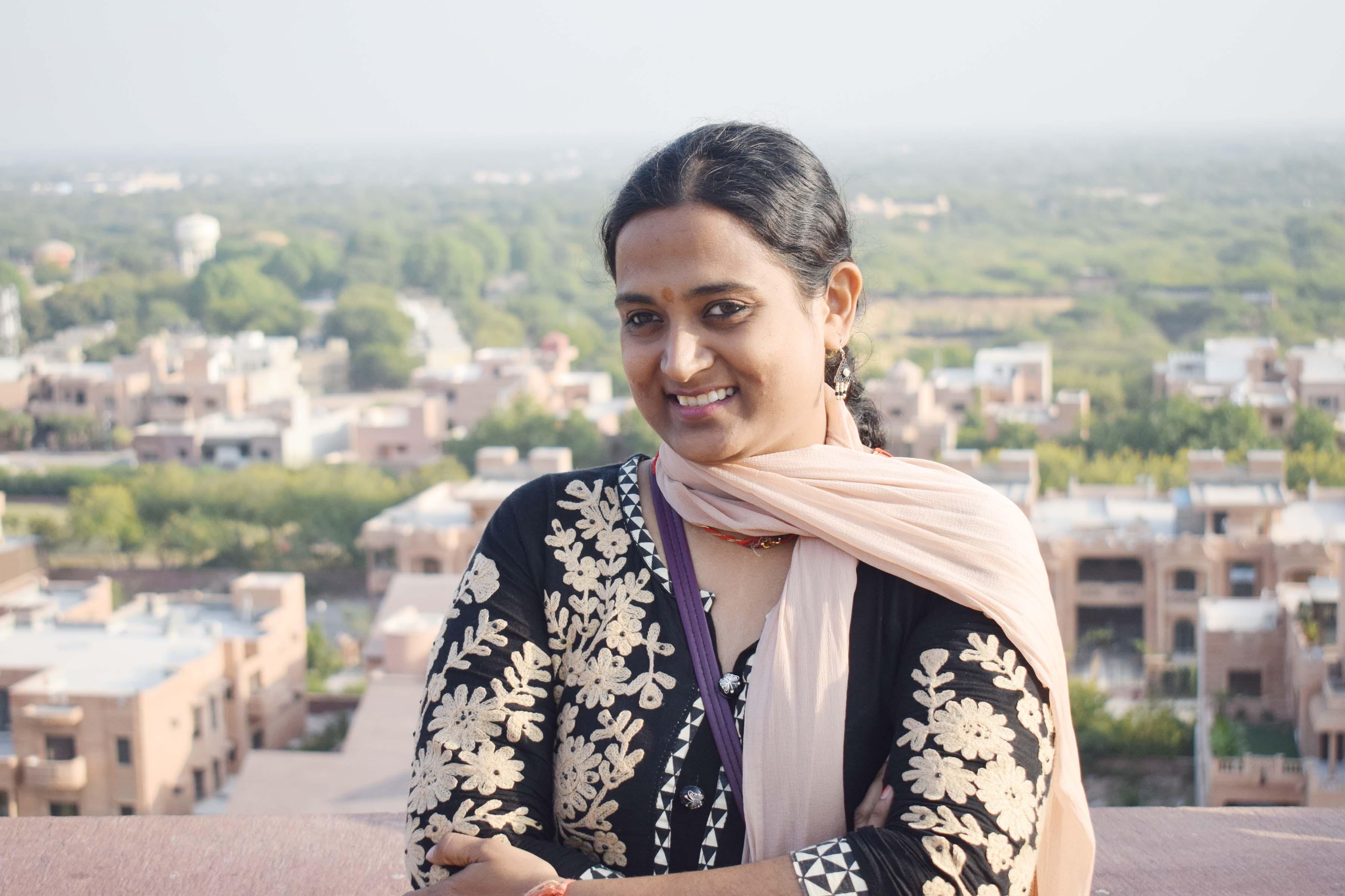 राजस्थान की छोरी