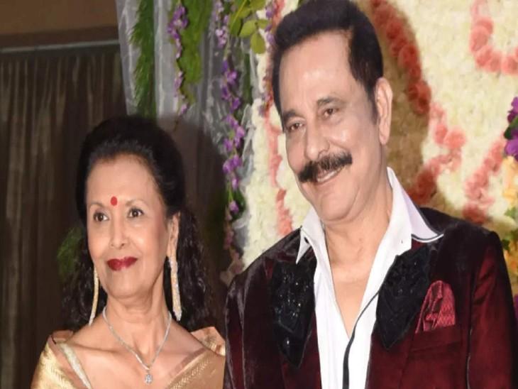 सहारा प्रमुख सुब्रता रॉय के साथ उनकी पत्नी स्वप्ना रॉय। - फाइल फोटो - Dainik Bhaskar