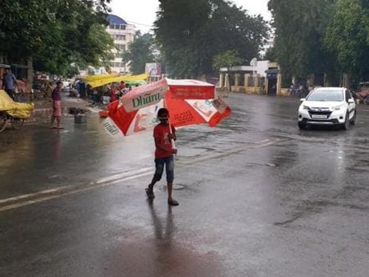 पटना सहित 19 जिलों में एक से दो स्थानों पर गरज के साथ बारिश, 16 अक्टूबर से पूरे बिहार में बारिश का पूर्वानुमान|बिहार,Bihar - Dainik Bhaskar