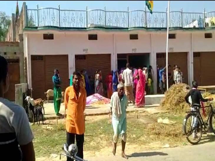 जमीन पर पड़े हाईटेंशन तार की चपेट में आने से हुआ हादसा, बिजली विभाग ने सप्लाई रोकने में कर दी देर|श्रावस्ती,Shrawasti - Dainik Bhaskar