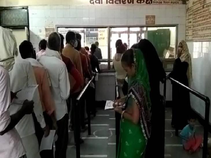 11 नए मरीज मिले, अब तक 75 लोगों की हुई मौत हाथरस,Hathras - Dainik Bhaskar