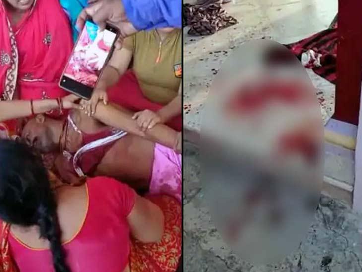 कार से आए चार हमलावरों ने गोली मारी; भाग रहे एक अपराधी को लोगों ने पीट-पीटकर मार डाला, 2 गंभीर दरभंगा,Darbhanga - Dainik Bhaskar