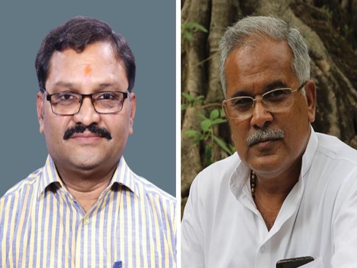 संतोष पांडे ने कहा- बयान देने के पहले सीएम बघेल को थोड़ा इतिहास की भी जानकारी होनी चाहिए राजनांदगांव,Rajnandgaon - Dainik Bhaskar