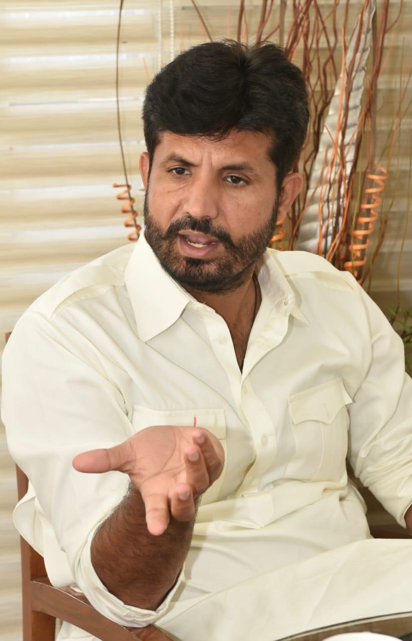 परिवहन मंत्री राजा वडिंग। - Dainik Bhaskar