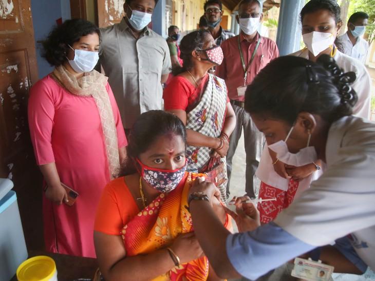 देश में अब तक 97 करोड़ के पार हुआ वैक्सीनेशन का आंकड़ा। - Dainik Bhaskar