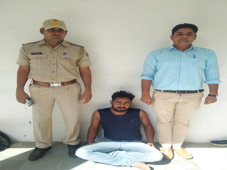 दो दिन पहले पकड़े गए साथी ने उगला सच,होटल में खाने के पैसे को लेकर मारपीट कर सामान लेकर भागा था सीकर,Sikar - Dainik Bhaskar