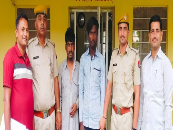 पहले गांवों में घूमकर रेकी करते और फिर रात में भैंस चुराते थे आरोपी, पुलिस ने 2 गाड़ियां भी की जब्त|राजसमंद,Rajsamand - Dainik Bhaskar
