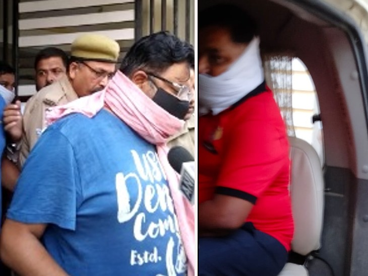 अंकित के फ्लैट से बरामद की गई रिवॉल्वर, लखीमपुर हिंसा के बाद पूर्व केंद्रीय मंत्री के होटल में छिपा था लखीमपुर-खीरी,Lakhimpur-Kheri - Dainik Bhaskar